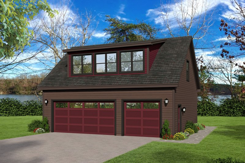Dream House Plan - Contemporary Exterior - Front Elevation Plan #932-239