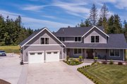 Contemporary Style House Plan - 4 Beds 2.5 Baths 3164 Sq/Ft Plan #1070-81