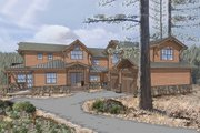 Craftsman Style House Plan - 5 Beds 6 Baths 3700 Sq/Ft Plan #899-3