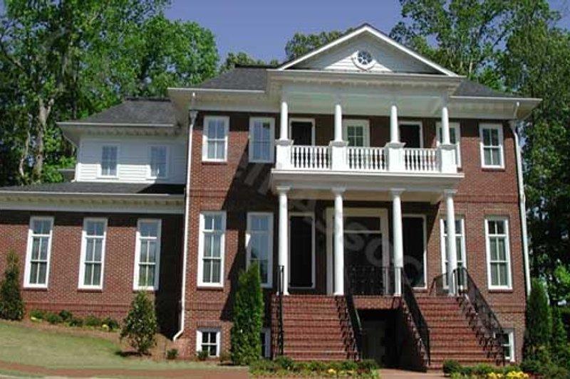 Colonial Exterior - Front Elevation Plan #54-133 - Houseplans.com