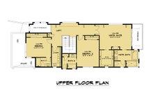 Modern Floor Plan - Upper Floor Plan Plan #1066-106
