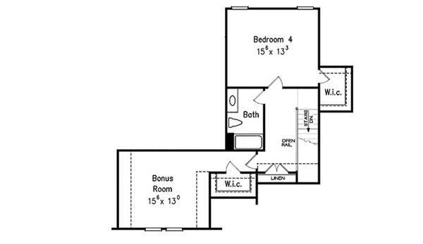 Dream House Plan - Optional Bonus (2nd level)