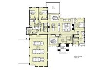 Tudor Floor Plan - Main Floor Plan Plan #901-119