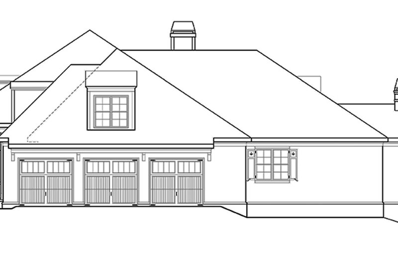 Country Exterior - Other Elevation Plan #927-409 - Houseplans.com