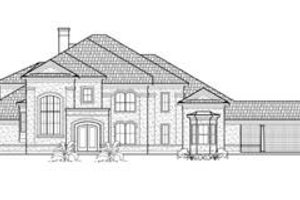 European Exterior - Front Elevation Plan #61-151