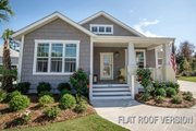 Craftsman Style House Plan - 3 Beds 2 Baths 1428 Sq/Ft Plan #461-55 Exterior - Front Elevation