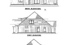 House Plan Design - European Exterior - Rear Elevation Plan #17-2257