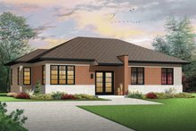 House Design - Contemporary Exterior - Front Elevation Plan #23-2567