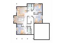 Country Floor Plan - Lower Floor Plan Plan #23-2536