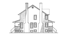 Victorian Exterior - Other Elevation Plan #47-847