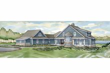 House Plan Design - Traditional Exterior - Front Elevation Plan #928-236
