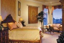 Mediterranean Interior - Bedroom Plan #930-316