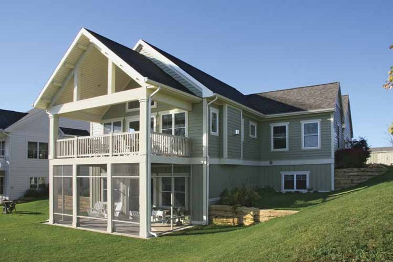 Traditional Exterior - Other Elevation Plan #928-165 - Houseplans.com