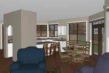 Architectural House Design - Craftsman Interior - Kitchen Plan #126-182