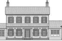 Architectural House Design - Colonial Exterior - Front Elevation Plan #1058-9