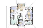 Farmhouse Style House Plan - 4 Beds 4.5 Baths 3621 Sq/Ft Plan #23-669 Floor Plan - Upper Floor Plan