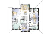 Farmhouse Style House Plan - 4 Beds 4.5 Baths 3621 Sq/Ft Plan #23-669