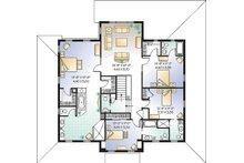 Farmhouse Floor Plan - Upper Floor Plan Plan #23-669