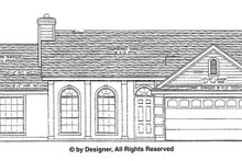 Dream House Plan - Ranch Exterior - Front Elevation Plan #472-125