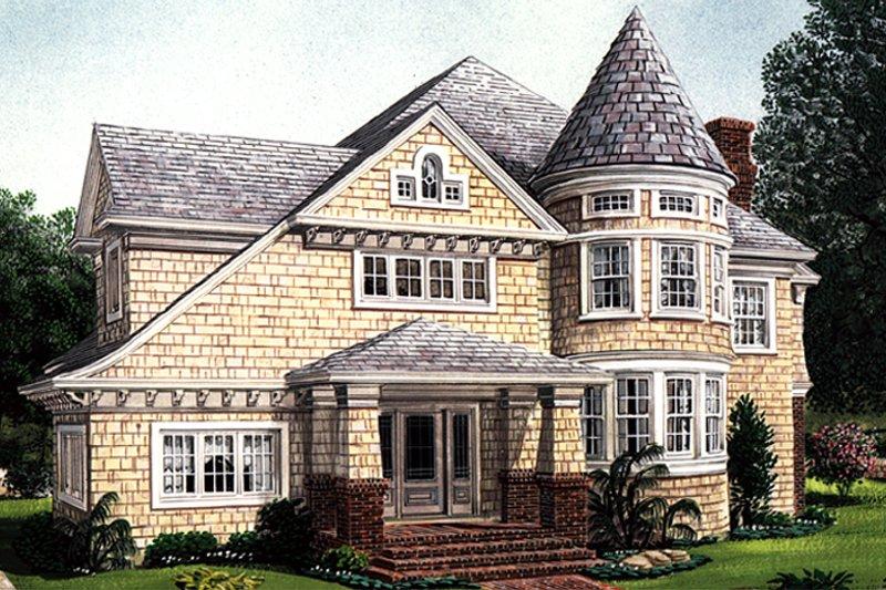 Home Plan - Craftsman Exterior - Front Elevation Plan #410-3581