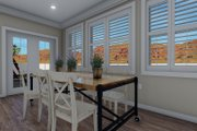 Traditional Style House Plan - 3 Beds 2 Baths 1699 Sq/Ft Plan #1060-60 Interior - Dining Room