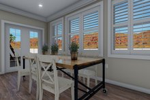 Dream House Plan - Traditional Interior - Dining Room Plan #1060-60