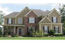 Home Plan - Traditional Exterior - Front Elevation Plan #54-353