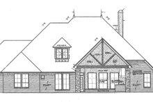 Dream House Plan - European Exterior - Rear Elevation Plan #310-1268
