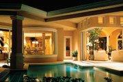 Mediterranean Style House Plan - 3 Beds 4 Baths 4009 Sq/Ft Plan #930-110 Exterior - Rear Elevation