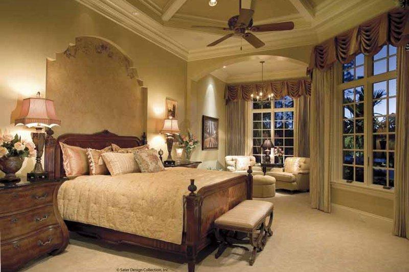 Mediterranean Interior - Master Bedroom Plan #930-398 - Houseplans.com