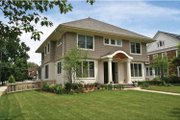Colonial Style House Plan - 5 Beds 3.5 Baths 3355 Sq/Ft Plan #928-220 Exterior - Front Elevation