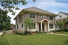 Colonial Exterior - Front Elevation Plan #928-220