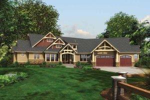 Craftsman Exterior - Front Elevation Plan #132-548