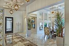 House Plan Design - Mediterranean Interior - Entry Plan #930-444