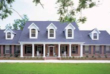 Country Exterior - Front Elevation Plan #968-39
