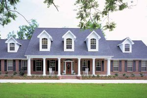 Architectural House Design - Country Exterior - Front Elevation Plan #968-39