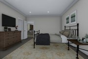 Farmhouse Style House Plan - 3 Beds 3 Baths 10240 Sq/Ft Plan #1060-83 Interior - Master Bedroom