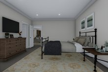 House Plan Design - Farmhouse Interior - Master Bedroom Plan #1060-83