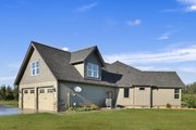 Craftsman Style House Plan - 3 Beds 2.5 Baths 2297 Sq/Ft Plan #1070-15 Exterior - Covered Porch