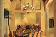 Mediterranean Style House Plan - 5 Beds 5 Baths 8088 Sq/Ft Plan #930-327 Interior - Dining Room
