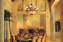 House Design - Mediterranean Interior - Dining Room Plan #930-327