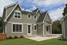 House Plan Design - Tudor Exterior - Rear Elevation Plan #928-257