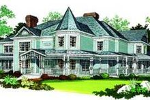 Home Plan - Victorian Exterior - Other Elevation Plan #72-196