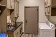 Mediterranean Style House Plan - 4 Beds 4.5 Baths 4185 Sq/Ft Plan #935-4 Interior - Laundry