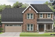 Traditional Style House Plan - 4 Beds 3 Baths 2619 Sq/Ft Plan #424-415 Exterior - Front Elevation