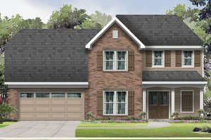 Traditional Exterior - Front Elevation Plan #424-415
