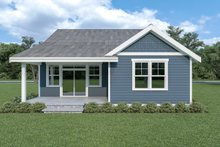 House Plan Design - Craftsman Exterior - Rear Elevation Plan #1070-79