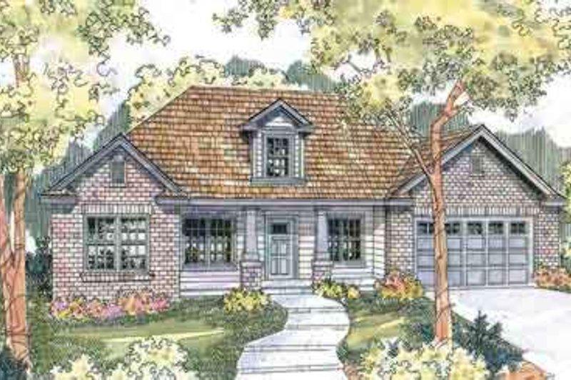 Dream House Plan - Exterior - Front Elevation Plan #124-561