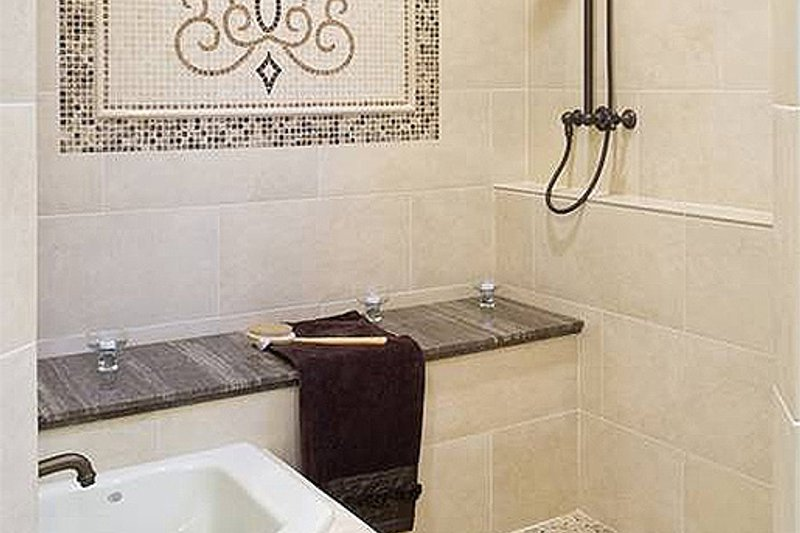 Master Bathroom - 4000 square foot European home