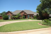 Traditional Style House Plan - 4 Beds 3.5 Baths 3728 Sq/Ft Plan #65-202 Exterior - Front Elevation